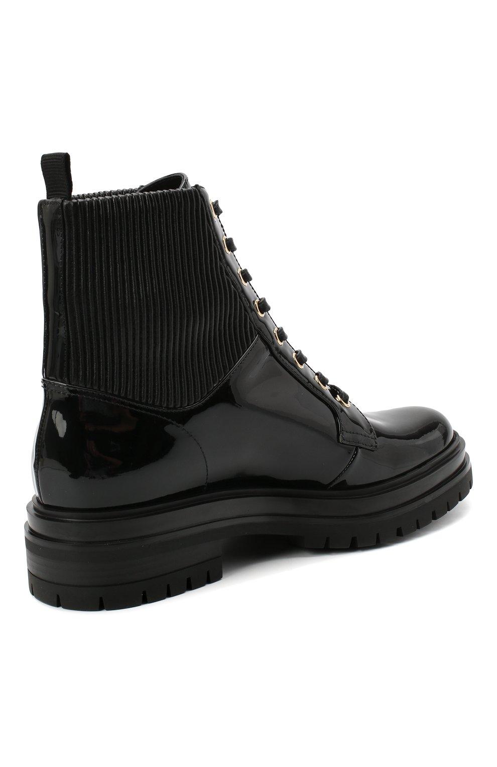 Женские кожаные ботинки martis GIANVITO ROSSI черного цвета, арт. G73884.20CU0.VHENENE | Фото 4