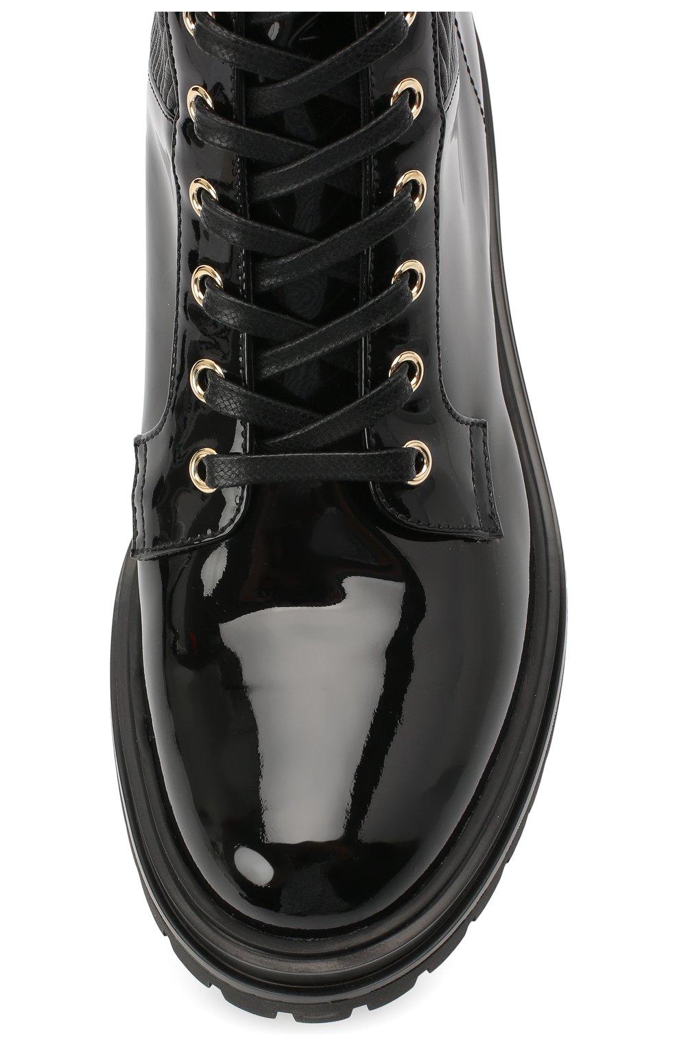 Женские кожаные ботинки martis GIANVITO ROSSI черного цвета, арт. G73884.20CU0.VHENENE | Фото 5
