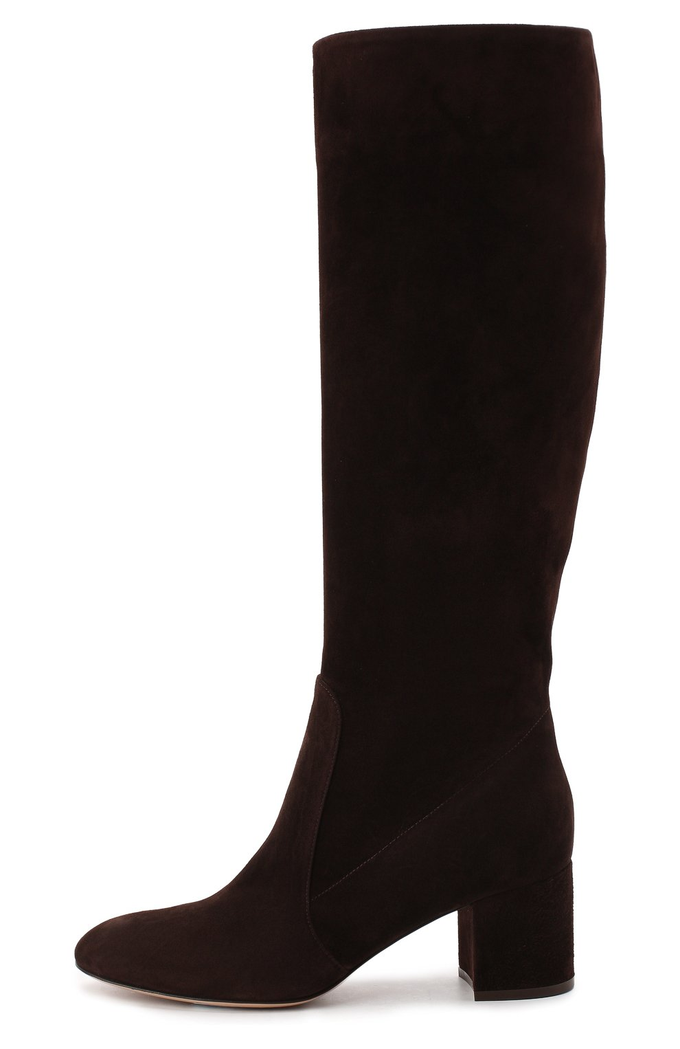 Женские замшевые сапоги daywear GIANVITO ROSSI коричневого цвета, арт. G80401.60RIC.C45W00D | Фото 3