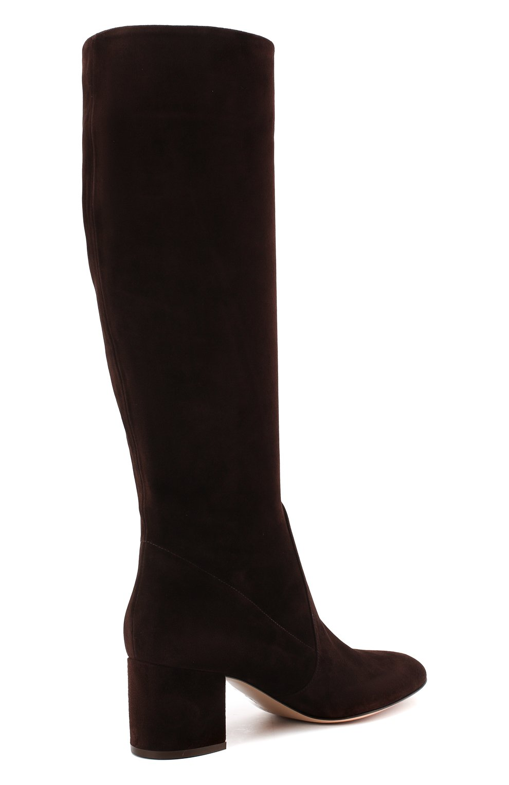 Женские замшевые сапоги daywear GIANVITO ROSSI коричневого цвета, арт. G80401.60RIC.C45W00D | Фото 4