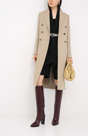 Женские кожаные сапоги daywear GIANVITO ROSSI бордового цвета, арт. G80403.85CU0.VITR0YA | Фото 2