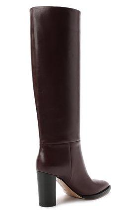 Женские кожаные сапоги daywear GIANVITO ROSSI бордового цвета, арт. G80403.85CU0.VITR0YA | Фото 4