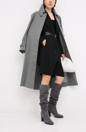Женские замшевые сапоги daywear GIANVITO ROSSI серого цвета, арт. G80484.85CU0.C45LAPI | Фото 2