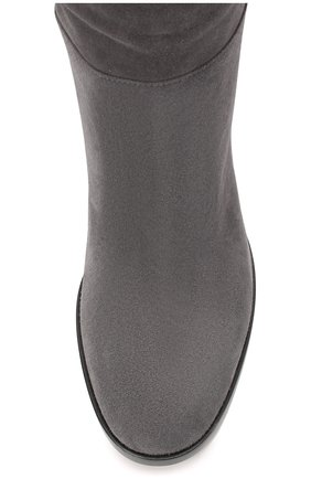 Женские замшевые сапоги daywear GIANVITO ROSSI серого цвета, арт. G80484.85CU0.C45LAPI | Фото 5
