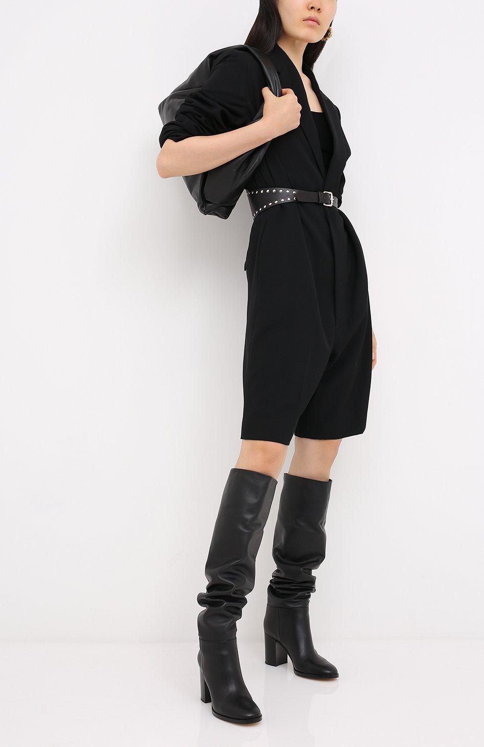 Женские кожаные сапоги daywear GIANVITO ROSSI черного цвета, арт. G80484.85CU0.VGTNER0 | Фото 2