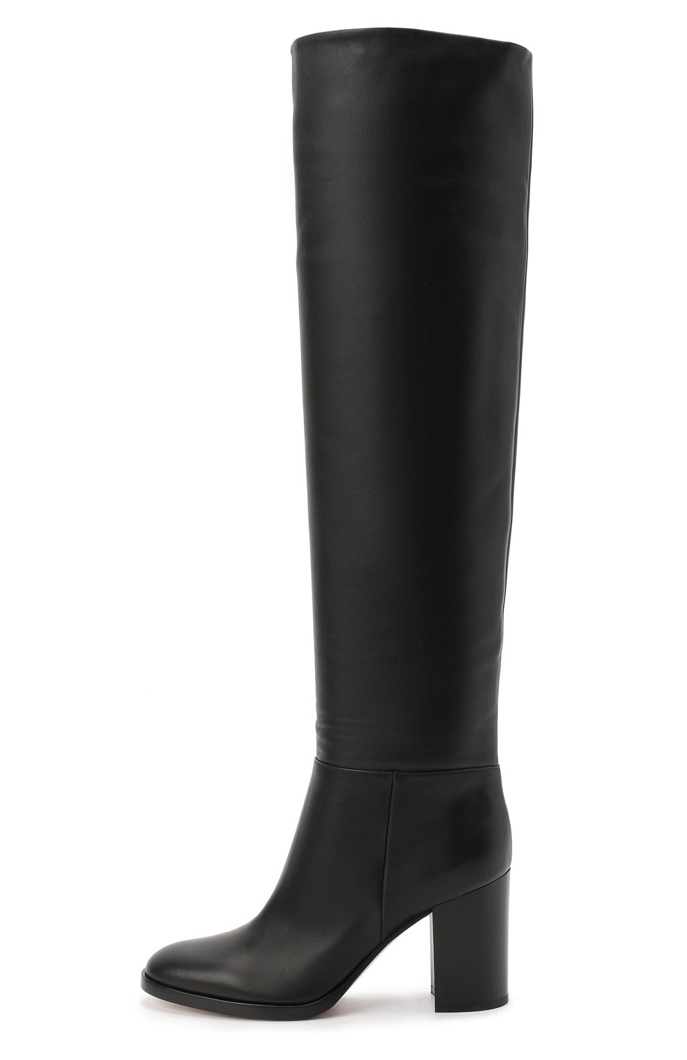 Женские кожаные сапоги daywear GIANVITO ROSSI черного цвета, арт. G80484.85CU0.VGTNER0 | Фото 3
