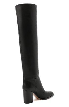 Женские кожаные сапоги daywear GIANVITO ROSSI черного цвета, арт. G80484.85CU0.VGTNER0 | Фото 4