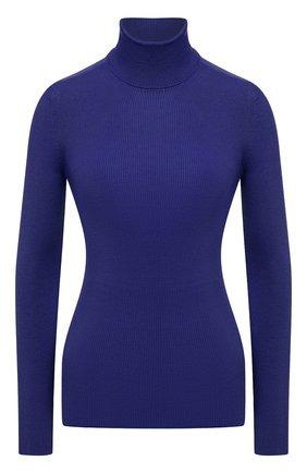 Женская водолазка из смеси кашемира и шелка TOM FORD синего цвета, арт. MAK840-YAX176 | Фото 1