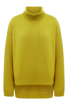 Женская кашемировый свитер TOM FORD желтого цвета, арт. MAK990-YAX226 | Фото 1