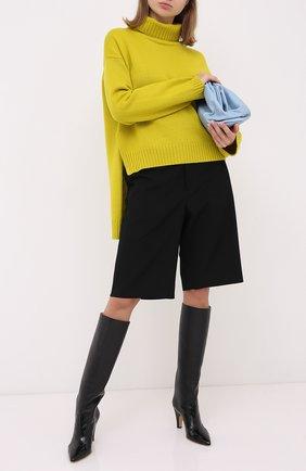 Женская кашемировый свитер TOM FORD желтого цвета, арт. MAK990-YAX226 | Фото 2