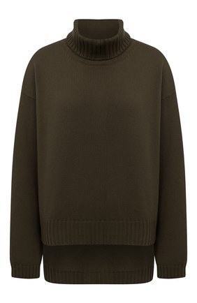 Женский кашемировый свитер TOM FORD хаки цвета, арт. MAK990-YAX226 | Фото 1