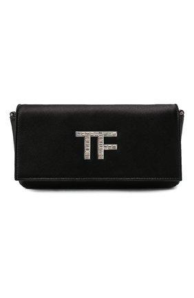 Женский клатч tf evening TOM FORD черного цвета, арт. L1369P-TSA001 | Фото 1