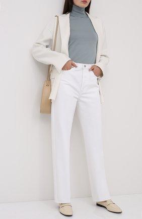Женский льняной жакет LORO PIANA белого цвета, арт. FAL0772 | Фото 2