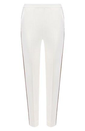 Женские брюки из шелка и хлопка LORO PIANA белого цвета, арт. FAL1360 | Фото 1