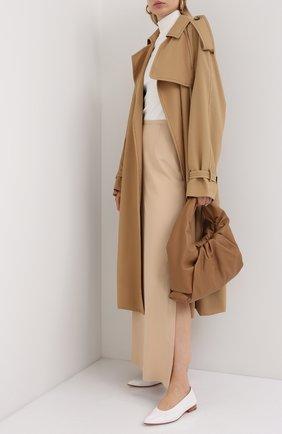 Женская юбка-макси LORO PIANA бежевого цвета, арт. FAL2372 | Фото 2