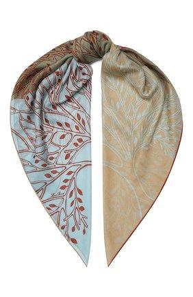 Женская шаль из кашемира и шелка park soffio LORO PIANA разноцветного цвета, арт. FAL2772 | Фото 1