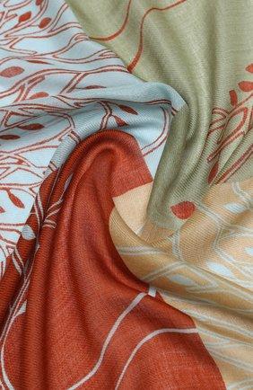 Женская шаль из кашемира и шелка park soffio LORO PIANA разноцветного цвета, арт. FAL2772 | Фото 2