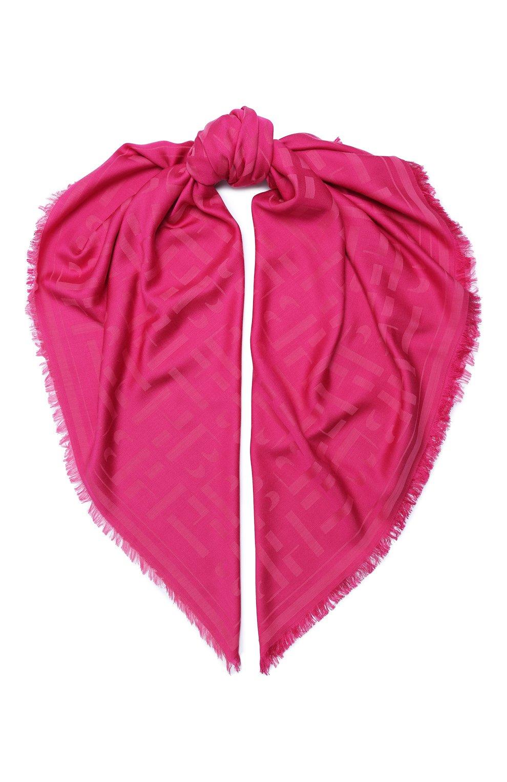 Женская шаль BOSS фуксия цвета, арт. 50430771   Фото 1