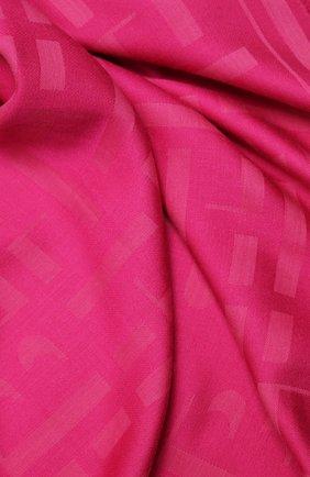 Женская шаль BOSS фуксия цвета, арт. 50430771 | Фото 2
