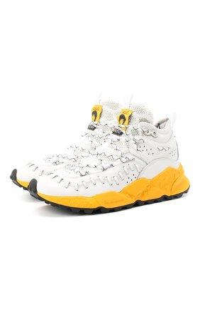 Мужские кроссовки FLOWER MOUNTAIN белого цвета, арт. 0012015070.01 | Фото 1