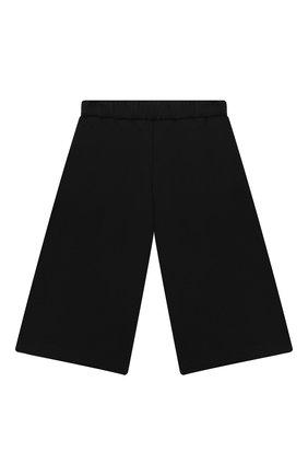 Детские хлопковые брюки EMPORIO ARMANI черного цвета, арт. 6HEP01/3J3PZ | Фото 2