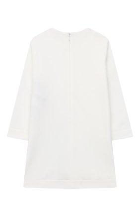 Женский хлопковое платье EMPORIO ARMANI белого цвета, арт. 6HEA15/3J3PZ | Фото 2