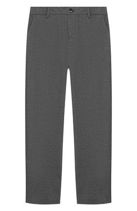 Детские брюки EMPORIO ARMANI серого цвета, арт. 6H4PJL/4N4FZ | Фото 1