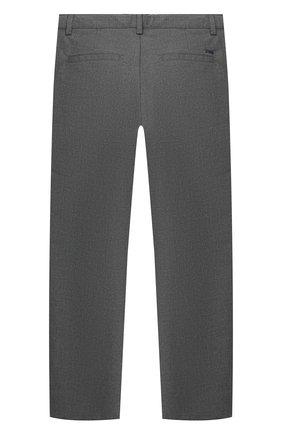 Детские брюки EMPORIO ARMANI серого цвета, арт. 6H4PJL/4N4FZ | Фото 2