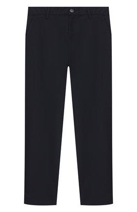 Детские брюки EMPORIO ARMANI темно-синего цвета, арт. 6H4PJL/4N4FZ | Фото 1
