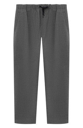 Детские брюки EMPORIO ARMANI серого цвета, арт. 6H4PG5/4N4FZ | Фото 1