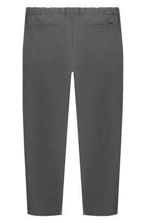 Детские брюки EMPORIO ARMANI серого цвета, арт. 6H4PG5/4N4FZ | Фото 2