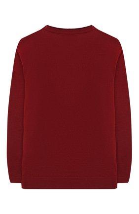 Детский пуловер EMPORIO ARMANI красного цвета, арт. 6H4M50/4M15Z   Фото 2