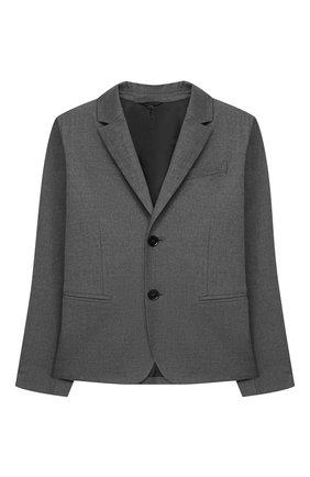 Детский пиджак EMPORIO ARMANI серого цвета, арт. 6H4GJH/4N4FZ | Фото 1