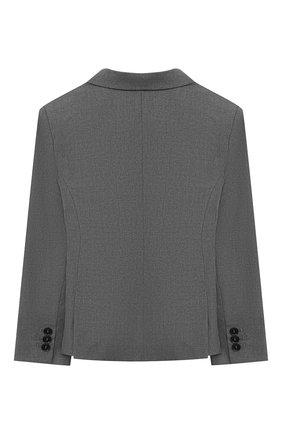 Детский пиджак EMPORIO ARMANI серого цвета, арт. 6H4GJH/4N4FZ | Фото 2