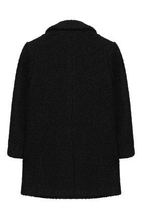 Детское пальто EMPORIO ARMANI черного цвета, арт. 6H3L03/2NNBZ   Фото 2