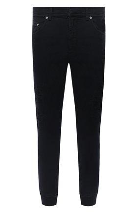 Мужские джинсы NEIL BARRETT черного цвета, арт. PBJP173V/P501T | Фото 1