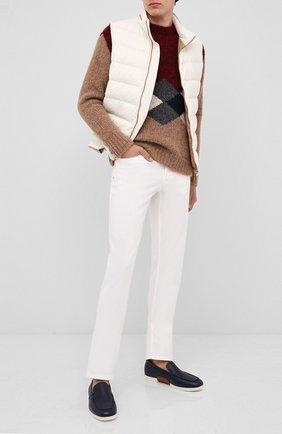 Мужской шерстяной свитер GIORGIO ARMANI разноцветного цвета, арт. 6HSM25/SM33Z | Фото 2