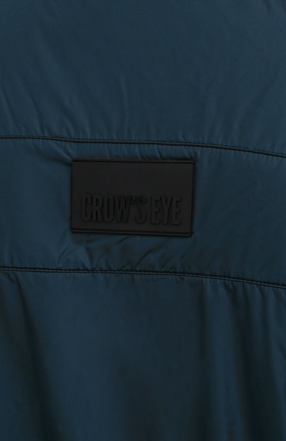 Мужской жилет CROW'S EYE темно-бирюзового цвета, арт. LE 65   Фото 5 (Кросс-КТ: Куртка; Материал внешний: Синтетический материал; Стили: Спорт-шик; Материал подклада: Синтетический материал; Мужское Кросс-КТ: Верхняя одежда; Длина (верхняя одежда): Короткие)