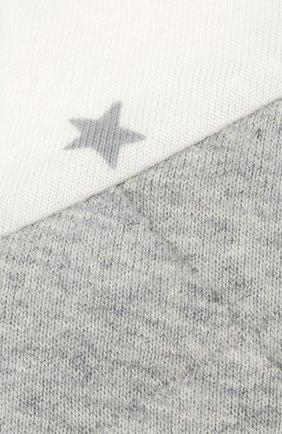 Детского спальный комбинезон LOVE TO DREAM белого цвета, арт. L40 07 076 WH 6M | Фото 2