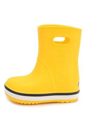 Детские резиновые сапоги CROCS желтого цвета, арт. 205827-734   Фото 2