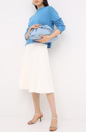 Женская юбка из вискозы VALENTINO белого цвета, арт. UB3KG01N5MN | Фото 2