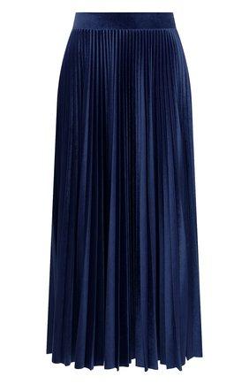 Женская юбка-миди VALENTINO синего цвета, арт. UB3MD01W5MD   Фото 1