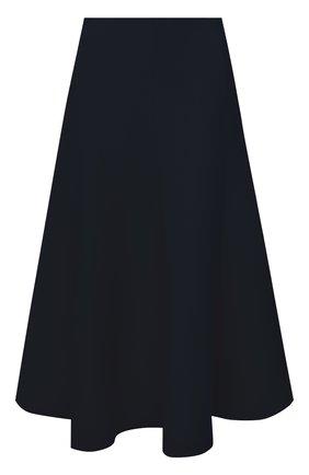Женская юбка из шерсти и шелка VALENTINO синего цвета, арт. UB3RA6951CF | Фото 1