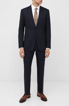 Мужской шерстяной костюм BRIONI темно-синего цвета, арт. RA000L/P5AMJ/BRUNIC0 | Фото 1