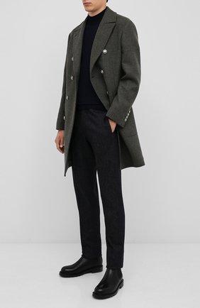 Мужской шерстяное пальто BRUNELLO CUCINELLI хаки цвета, арт. MN4679003D | Фото 2