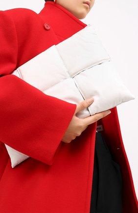 Женские кожаный футляр для документов BOTTEGA VENETA белого цвета, арт. 630348/VB090 | Фото 2