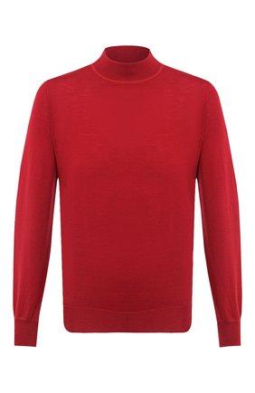 Мужской водолазка из шерсти и кашемира BRUNELLO CUCINELLI красного цвета, арт. M2400224 | Фото 1