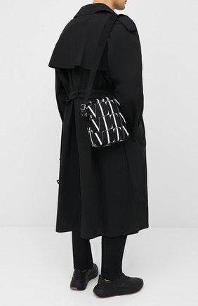 Мужская текстильная сумка valentino garavani VALENTINO черного цвета, арт. UY2B0987/HWP | Фото 2