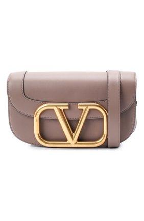 Женская сумка valentino garavani supervee VALENTINO темно-бежевого цвета, арт. UW2B0G09/ZXL | Фото 5