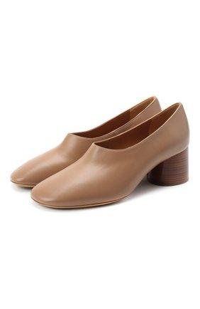 Женская кожаные туфли MANSUR GAVRIEL бежевого цвета, арт. WP20F001KQ | Фото 1